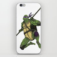 Donatello iPhone & iPod Skin