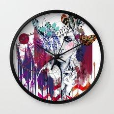 Tribal Girl  Wall Clock
