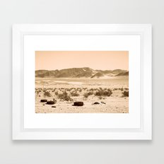 Desolation Framed Art Print