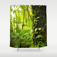 Trunk Of The Jungle Shower Curtain