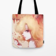 Tote Bag featuring Automne Rouge by Ludovic Jacqz