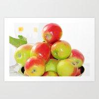 Apples From My Apple Tre… Art Print