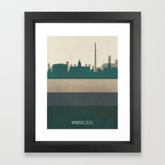 Washington Dc  Framed Art Print