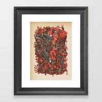 - Sensitivity - Framed Art Print