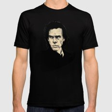 Nick Cave  Black Mens Fitted Tee SMALL