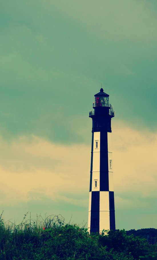 The New Cape Henry Lighthouse Art Print