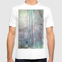 Free Falling Mens Fitted Tee White SMALL