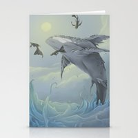 Celestial Travellers  Stationery Cards