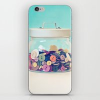 Where's Baby's Button? iPhone & iPod Skin