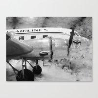 Galveston Air Museum II Canvas Print