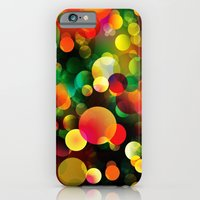 iPhone & iPod Case featuring Bokeh Flow by Texnotropio