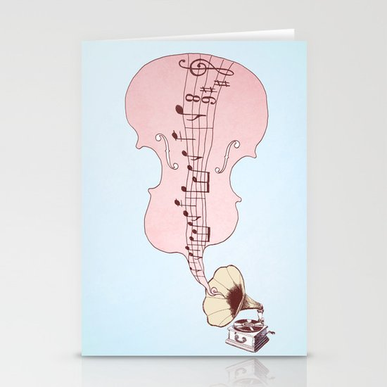 musical moment II  Stationery Card