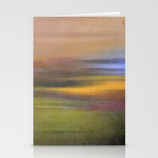 colour square Stationery Card