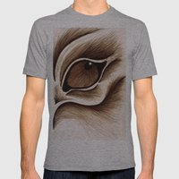 Brutal Mens Fitted Tee Athletic Grey SMALL
