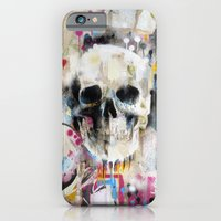 skull iPhone & iPod Cases featuring Skull by FAMOUS WHEN DEAD