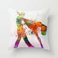 Dancing Queen 3 Throw Pillow