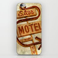 Vintage Grunge Motel Sig… iPhone & iPod Skin