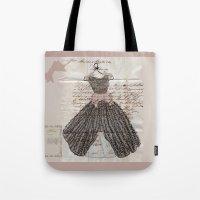 Blush Fancy Dress Tote Bag