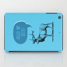 Deer Pun iPad Case
