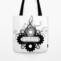 The Karma Machine Tote Bag