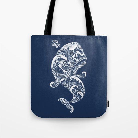 The White Whale  Tote Bag