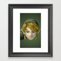 Triangles Video Games He… Framed Art Print