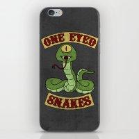 One Eyed Snakes iPhone & iPod Skin