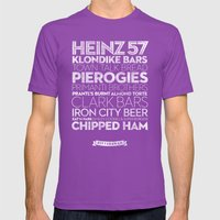 Pittsburgh — Delicious… Mens Fitted Tee Ultraviolet SMALL