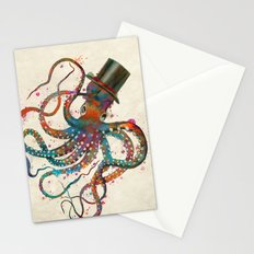 Mr Octopus Stationery Cards