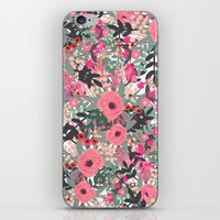 Flower jungle iPhone & iPod Skin