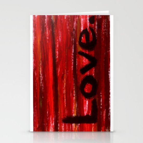 LOVE By KPD (Stretched) Stationery Card