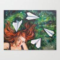 Summer Grass. Tuzello's Dream. Canvas Print