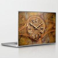 Laptop & iPad Skin featuring Tempus fugit ! by teddynash