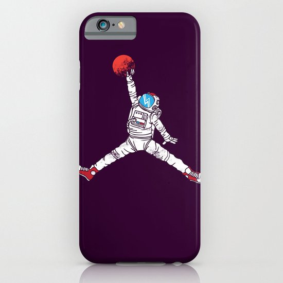 space dunk (purple ver.) iPhone & iPod Case