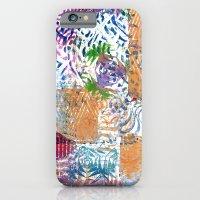 Printed Patchwork iPhone 6 Slim Case