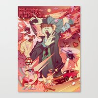 Machinima Film Festival Canvas Print