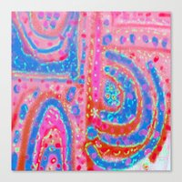 Pink Power Canvas Print
