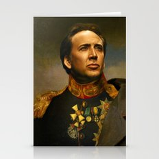 Nicolas Cage - Replacefa… Stationery Cards