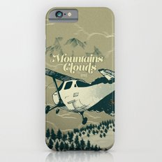 Mountains Hide in Clouds II - Tan iPhone 6 Slim Case