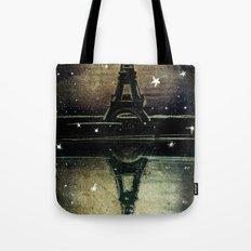 Paris Midnight Tote Bag