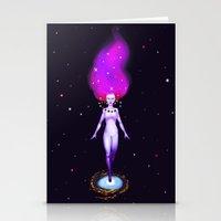 Universe God Stationery Cards