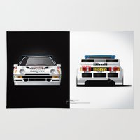 Group B Edition, N.º4, Ford RS200 Rug