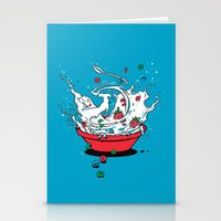 Stationery Card featuring Cereal Killa by Don Lim