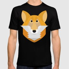 Fox SMALL Black Mens Fitted Tee