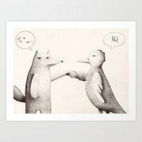 Trato Hecho Art Print