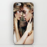 Roxy & Claire iPhone & iPod Skin