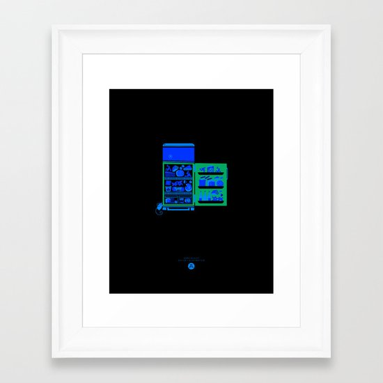 Cheese box Framed Art Print