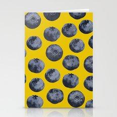 Blueberry pattern Stationery Cards
