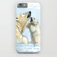 Polar bears A0086 iPhone 6 Slim Case