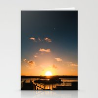 Sun Is Going Down Stationery Cards